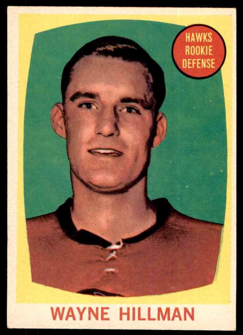 1961-62 Topps Wayne Hillman #38 card front image