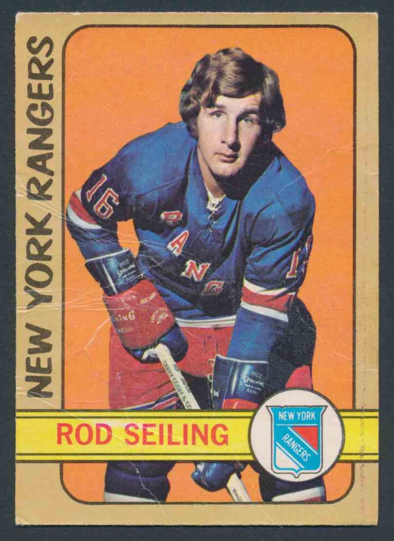 1972-73 O-Pee-Chee Rod Seiling card front image