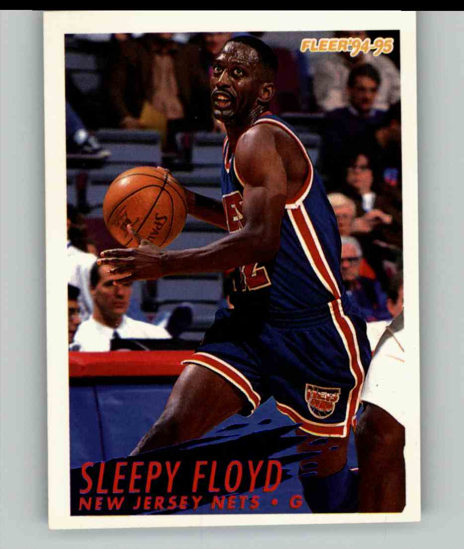 1994-95 Fleer Sleepy Floyd #328 card front image