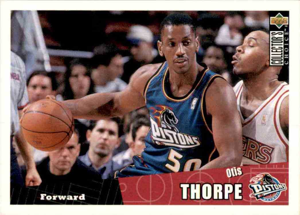 1996-97 Collector's Choice Otis Thorpe #241 card front image