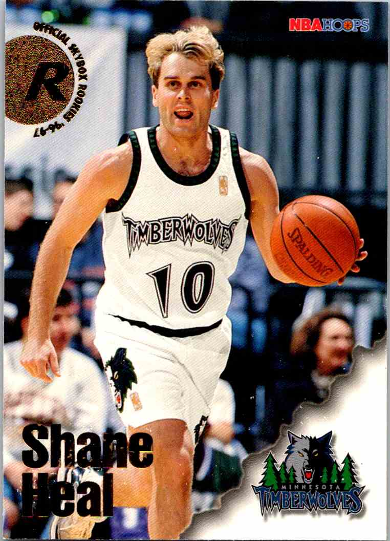 1997-98 NBA Hoops Shane Heal #293 card front image