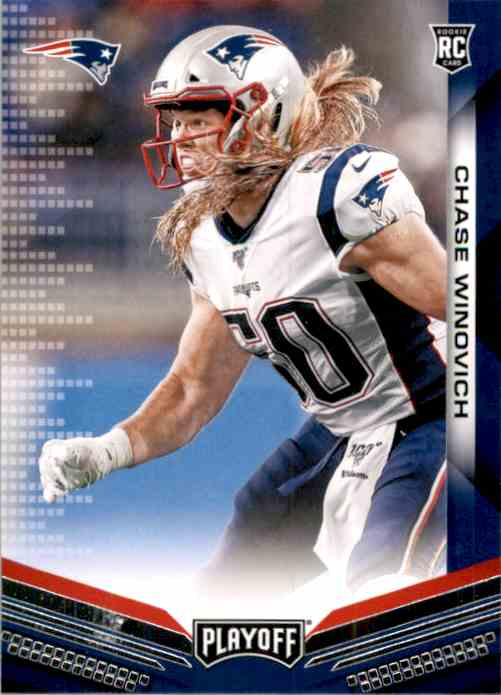 2019 Playoff Chase Winovich RC #280 card front image