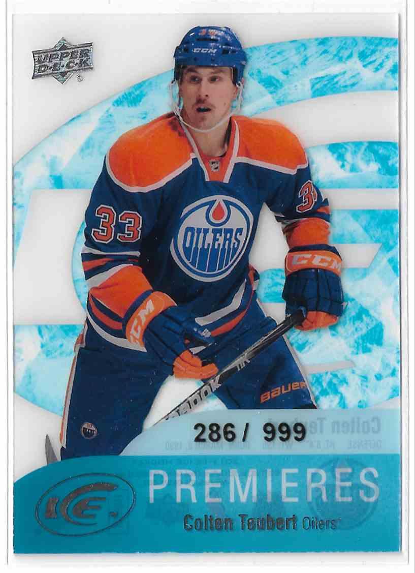 2011-12 Upper Deck Ice Colten Teubert #67 card front image
