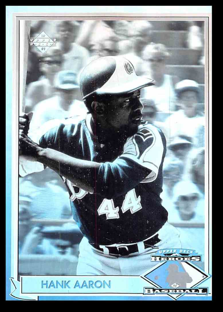 1991 Upper Deck Hologram Hank Aaron Hh1 On Kronozio