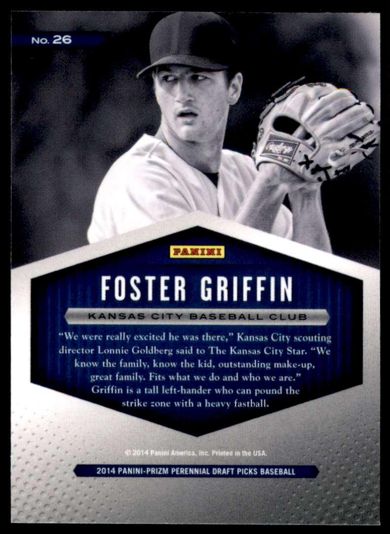 2014 Panini Prizm Perennial Draft Picks Draft Class Foster Griffin #26 card back image