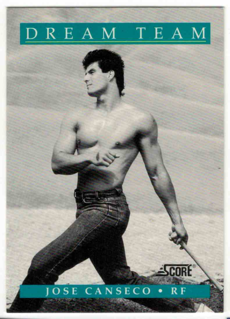 1991 Score Jose Canseco #DT1 card front image