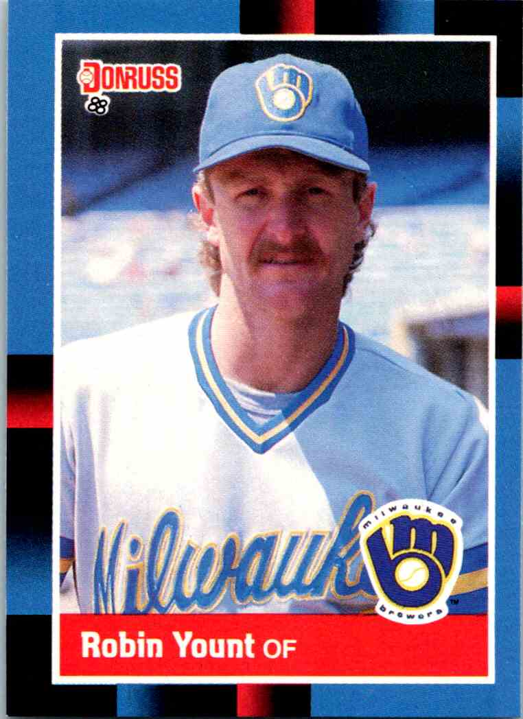 1988 Donruss Robin Yount #295 card front image