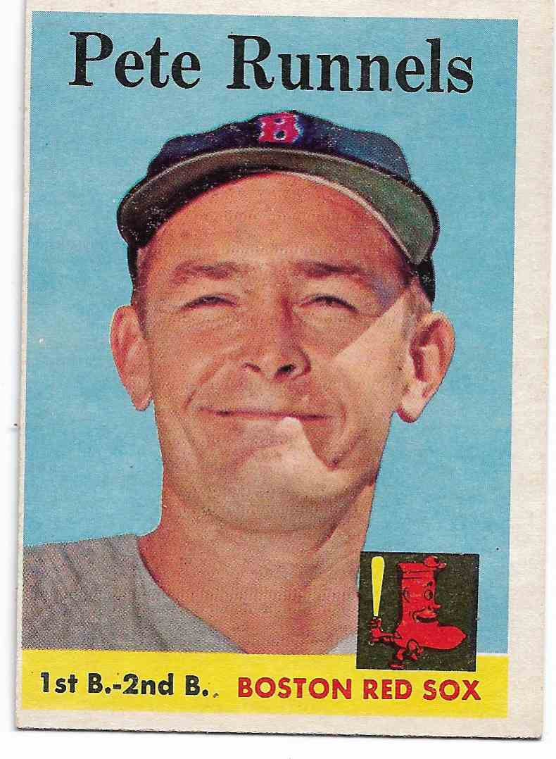 1958 Topps Pete Runnels #265 card front image
