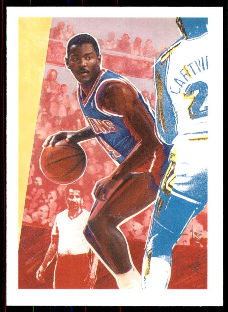 1990-91 Hoops Joe Dumars Tc #362 card front image
