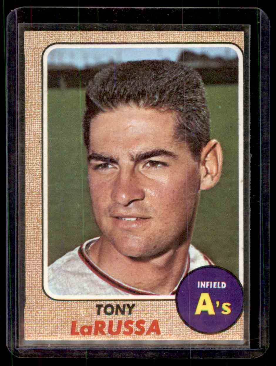 1968 Topps Tony Larussa #571 card front image