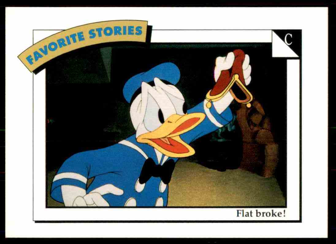 1991 Disney Series One Flat Broke #90 card front image