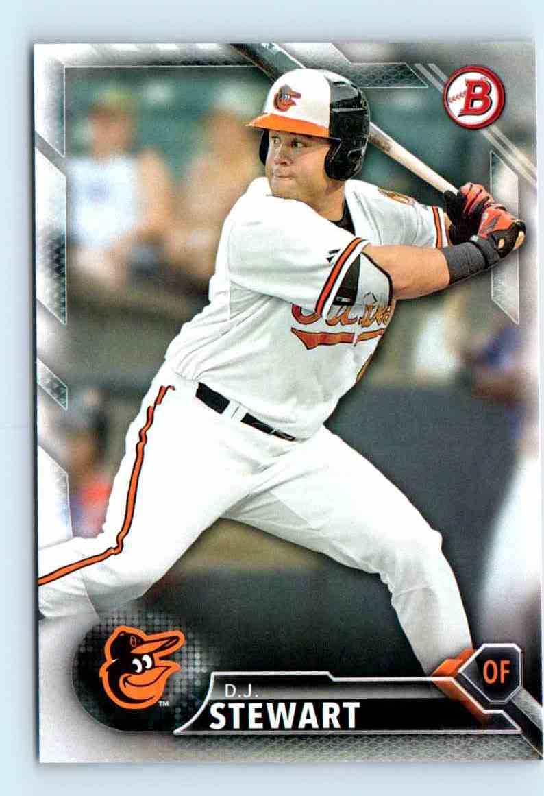 2016 Bowman Prospects Dj Stewart Bp79 On Kronozio