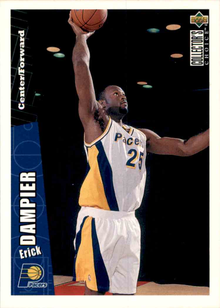 1996-97 Collector's Choice Erick Dampier #253 card front image