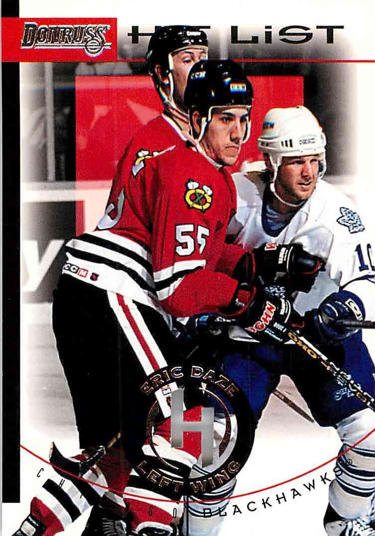 1996-97 Donruss Eric Daze #12 card front image