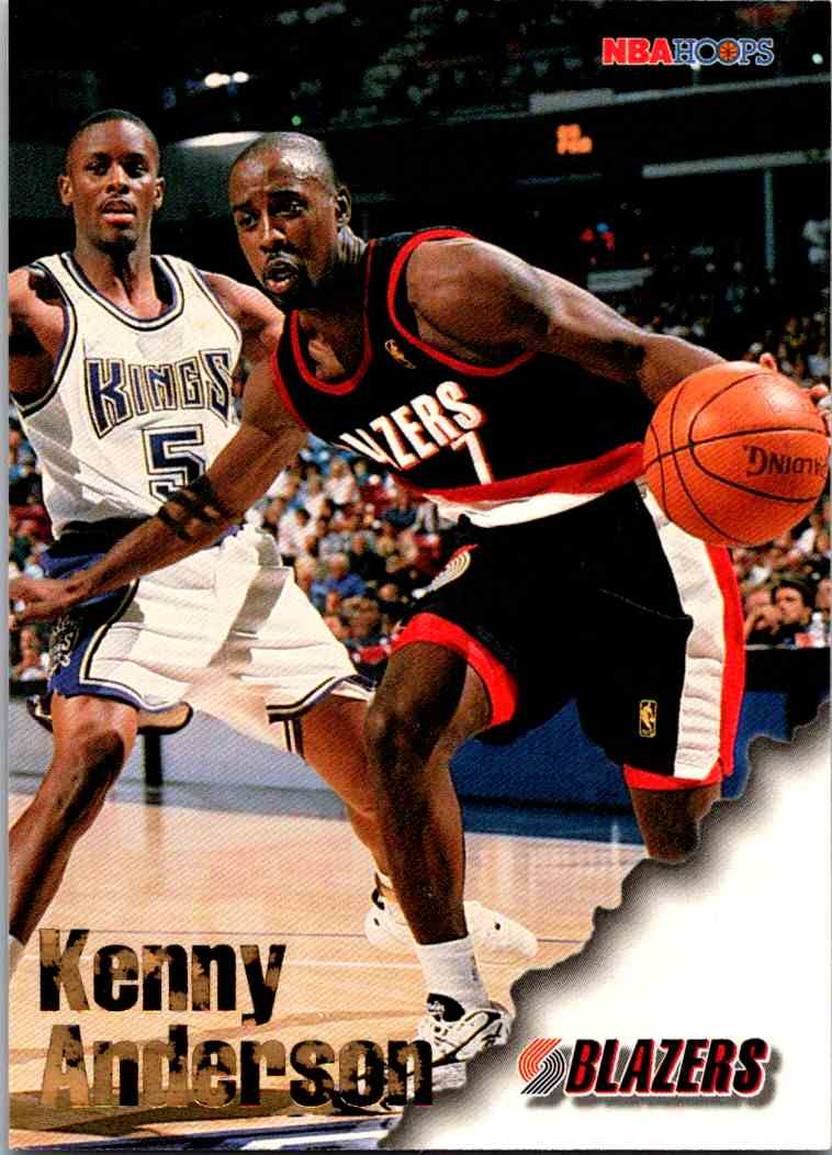 1997-98 NBA Hoops Kenny Anderson #234 card front image