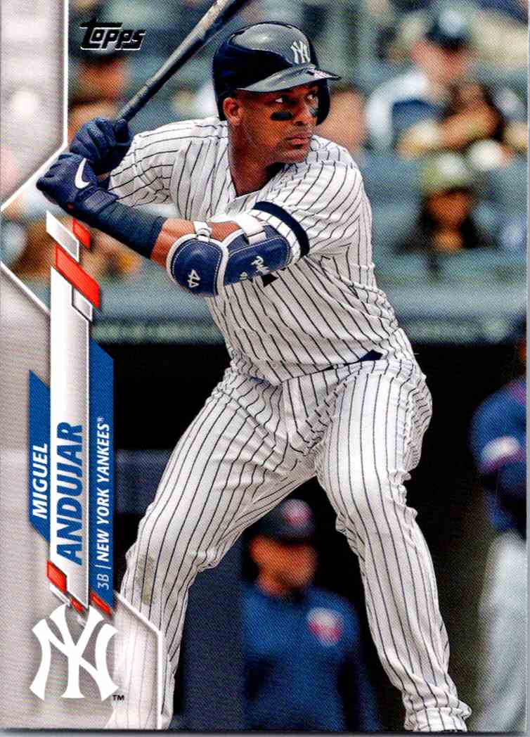 2020 Topps Series Two Miguel Andujar #398 card front image