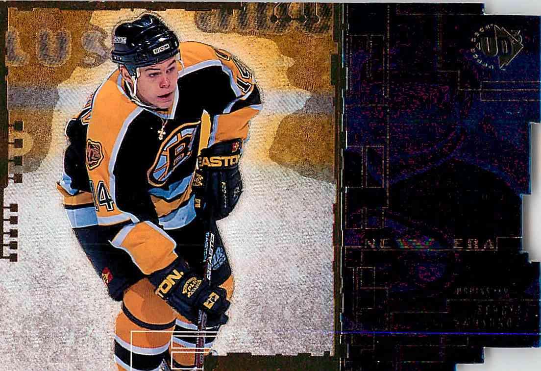 1998-99 Upper Deck Sergei Samsonov #NNO card front image