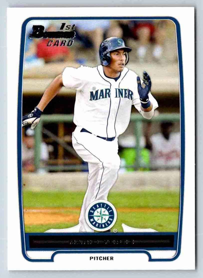 2012 Bowman Prospects Mario Yepez #BP32 card front image