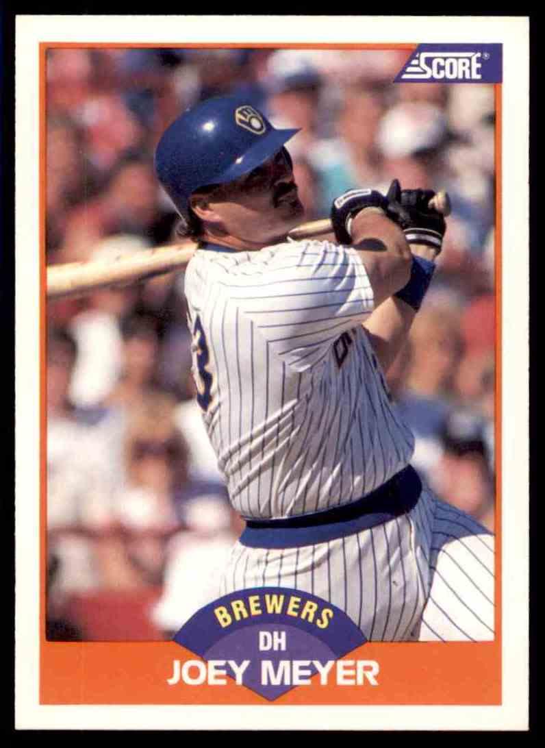 1989 Score Regular Joey Meyer #374 card front image
