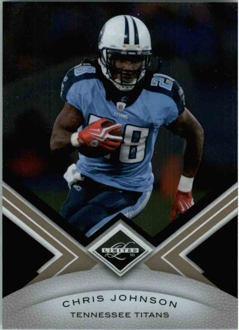 2010 Leaf Limited Chris Johnson #94 card front image