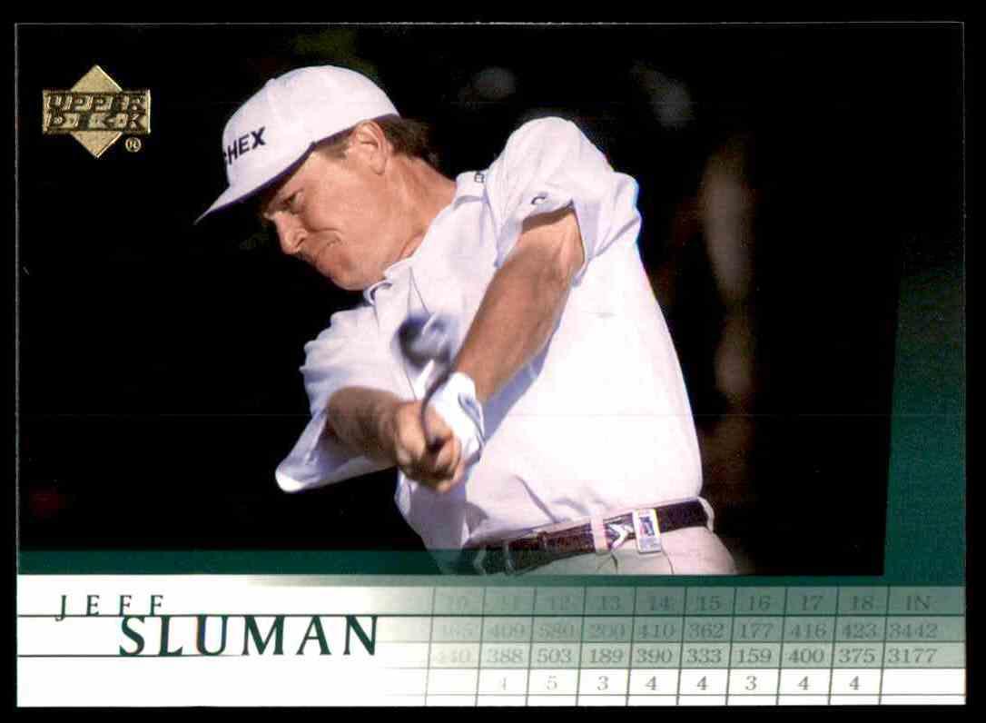 2001 Upper Deck Jeff Sluman #49 card front image