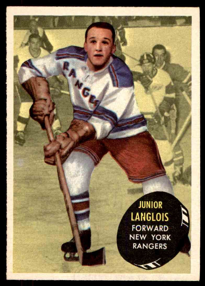 1961-62 Topps Albert Langlois #46 card front image