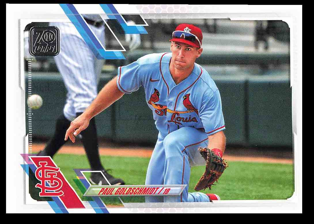 2021 Topps Series 1 Paul Goldschmidt #229 card front image