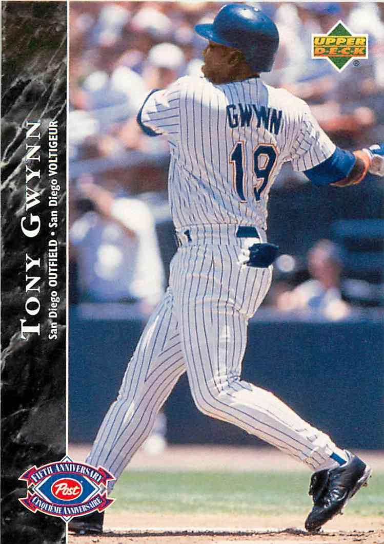 1995 Upper Deck Post Tony Gwynn 18 On Kronozio