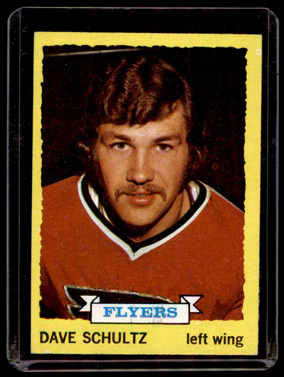 1973-74 Topps Dave Schultz #149 card front image