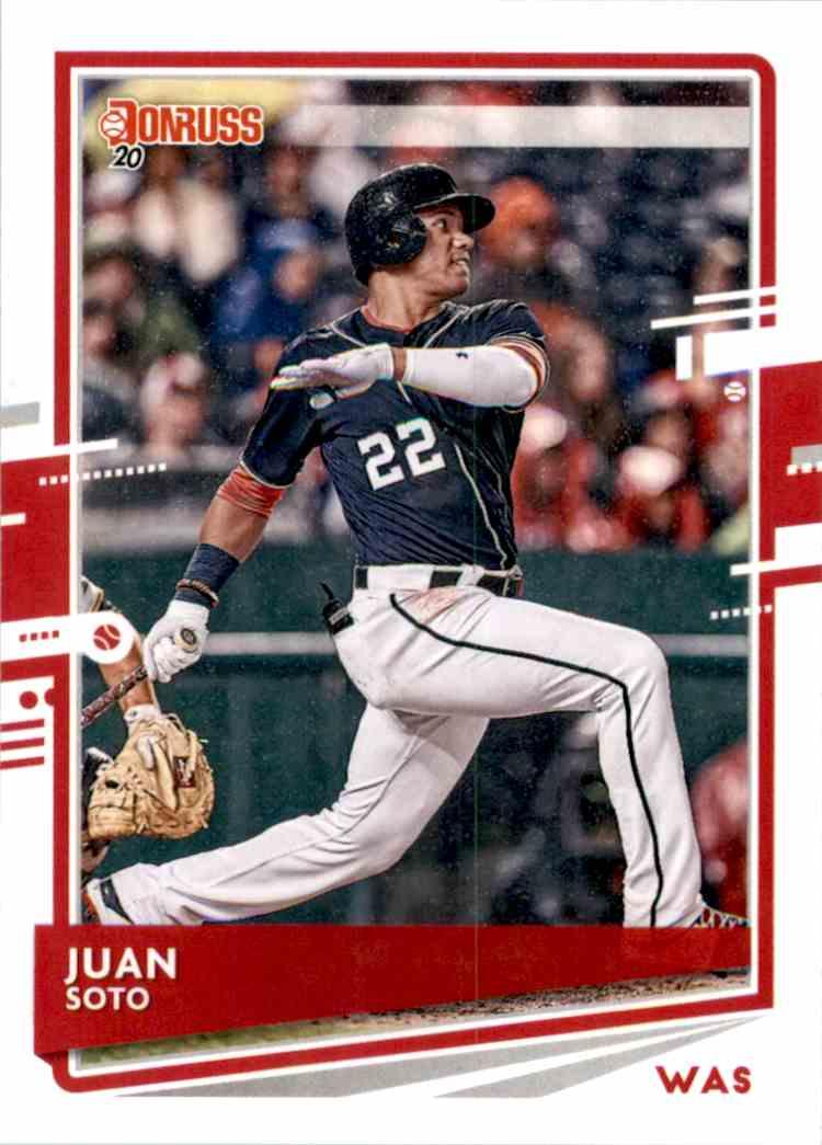 2020 Donruss Variations Juan Soto #162 card front image