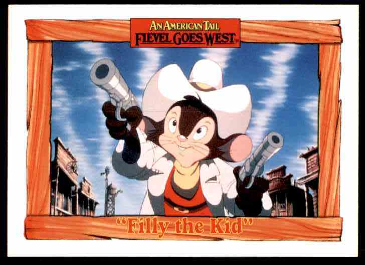 1991 An American Tail Filly The Kid #31 card front image