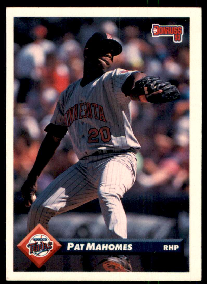 1993 Donruss Pat Mahomes #357 card front image