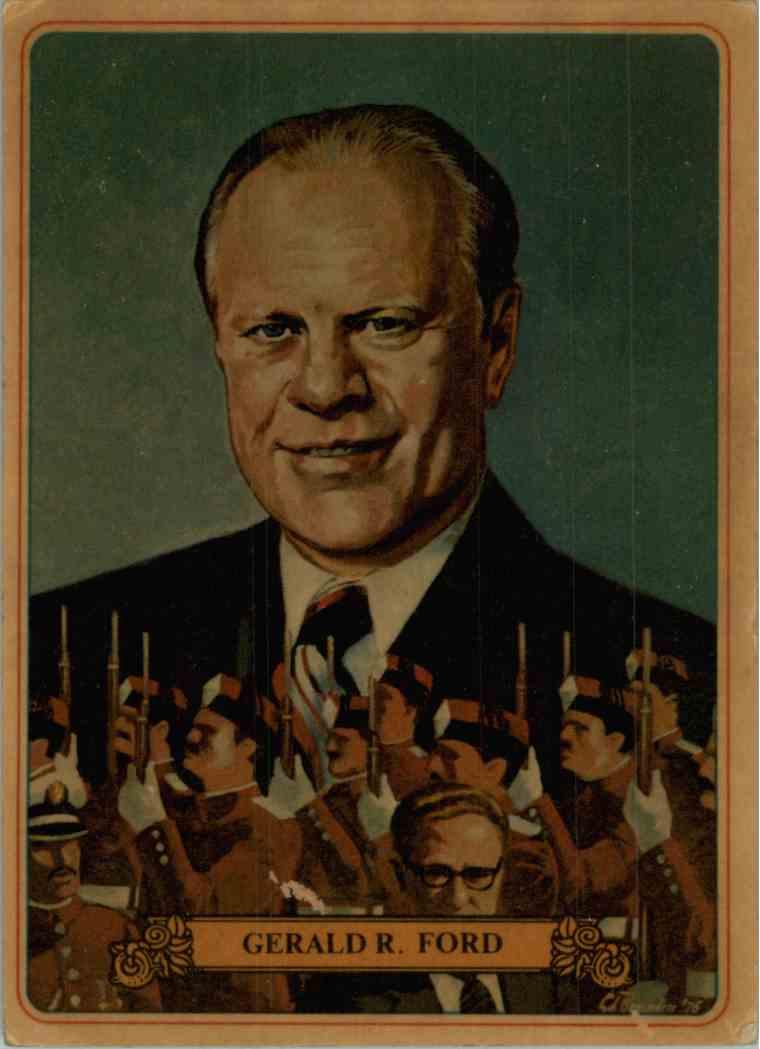 1976 Bel-Art Manor Gerald R. Ford #37 card front image