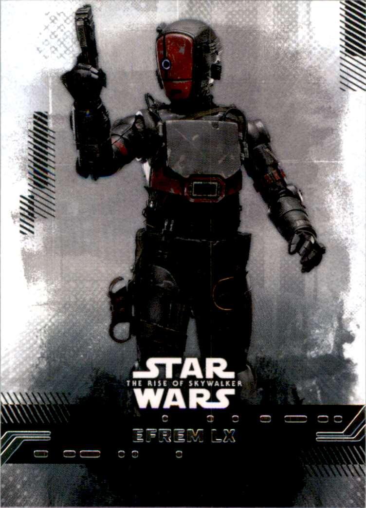 2019 Star Wars The Rise Of Skywalker Series One Efrem LX #30 card front image