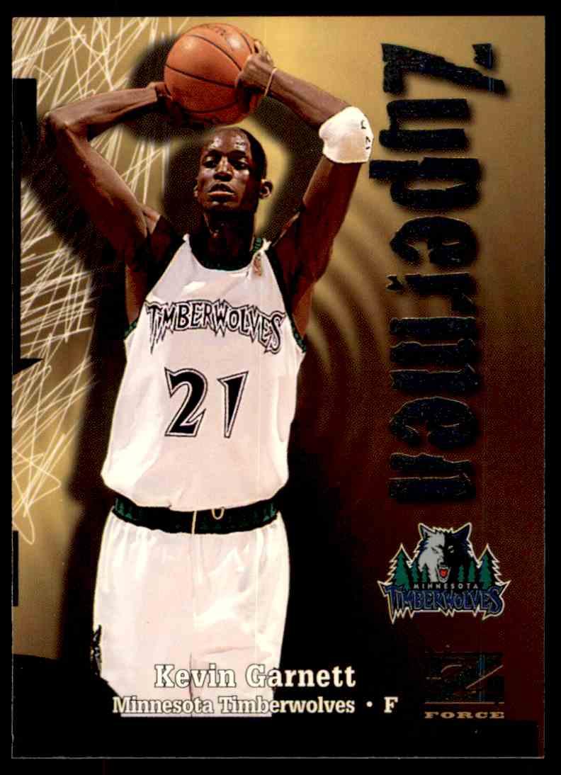 1997-98 Skybox Z Force Zuperman Kevin Garnett #199 card front image