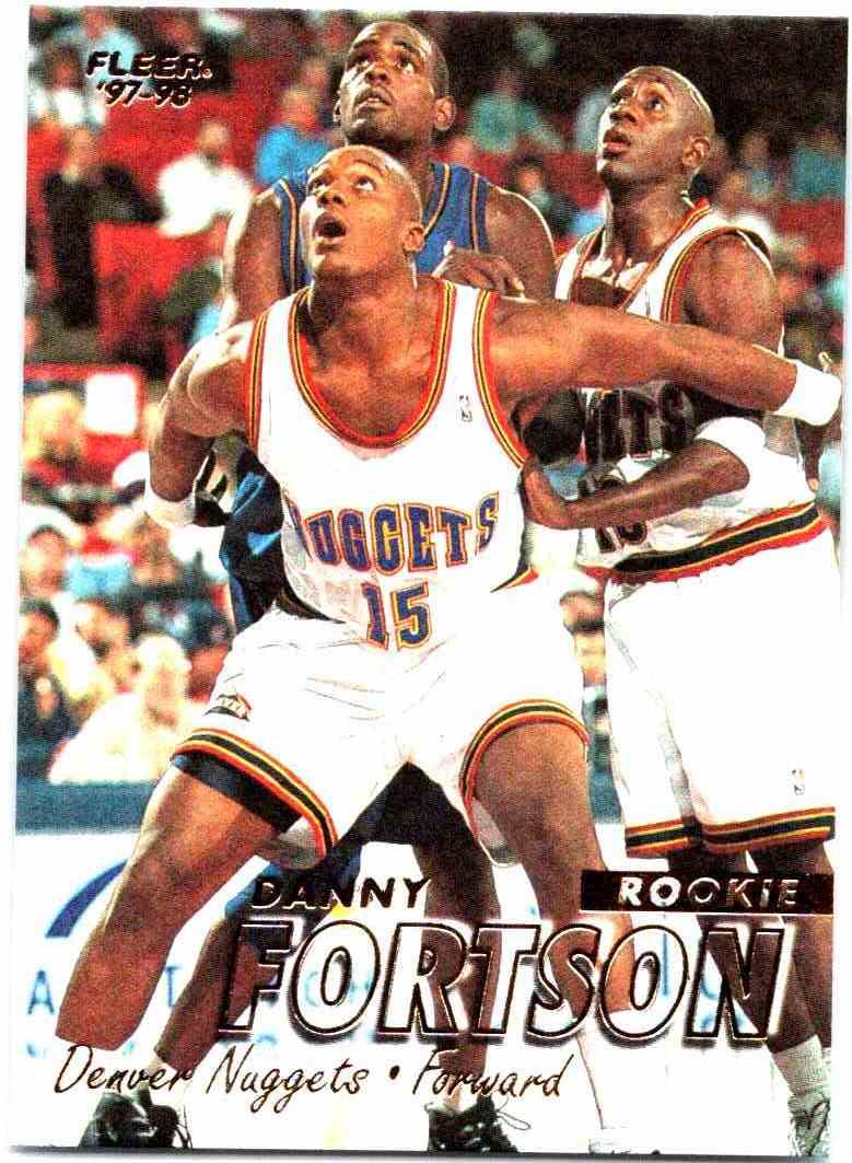 1997-98 Fleer Danny Fortson #287 on Kronozio