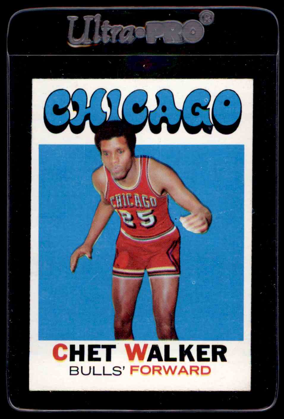 1971 72 Topps EX Chet Walker on Kronozio