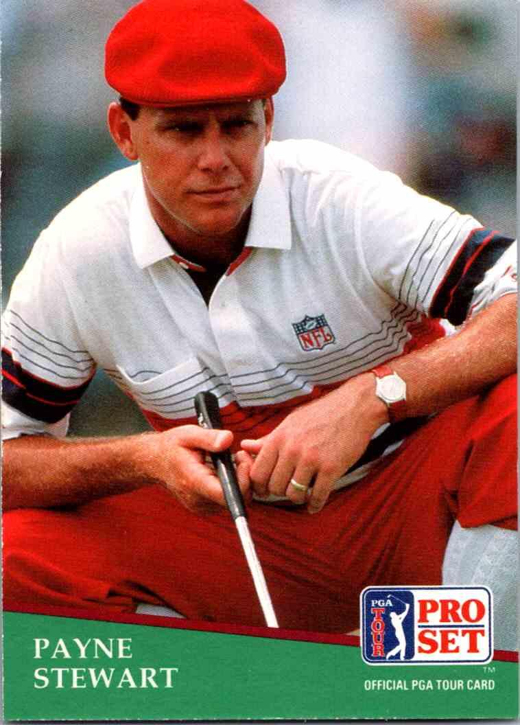 1991 Pro Set Payne Stewart #103 card front image