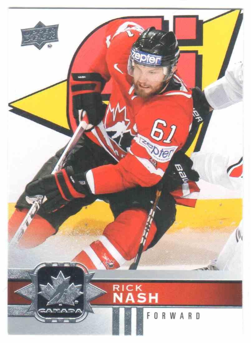 2017-18 Upper Deck Team Canada Canadian Tire Rick Nash #118 card front image