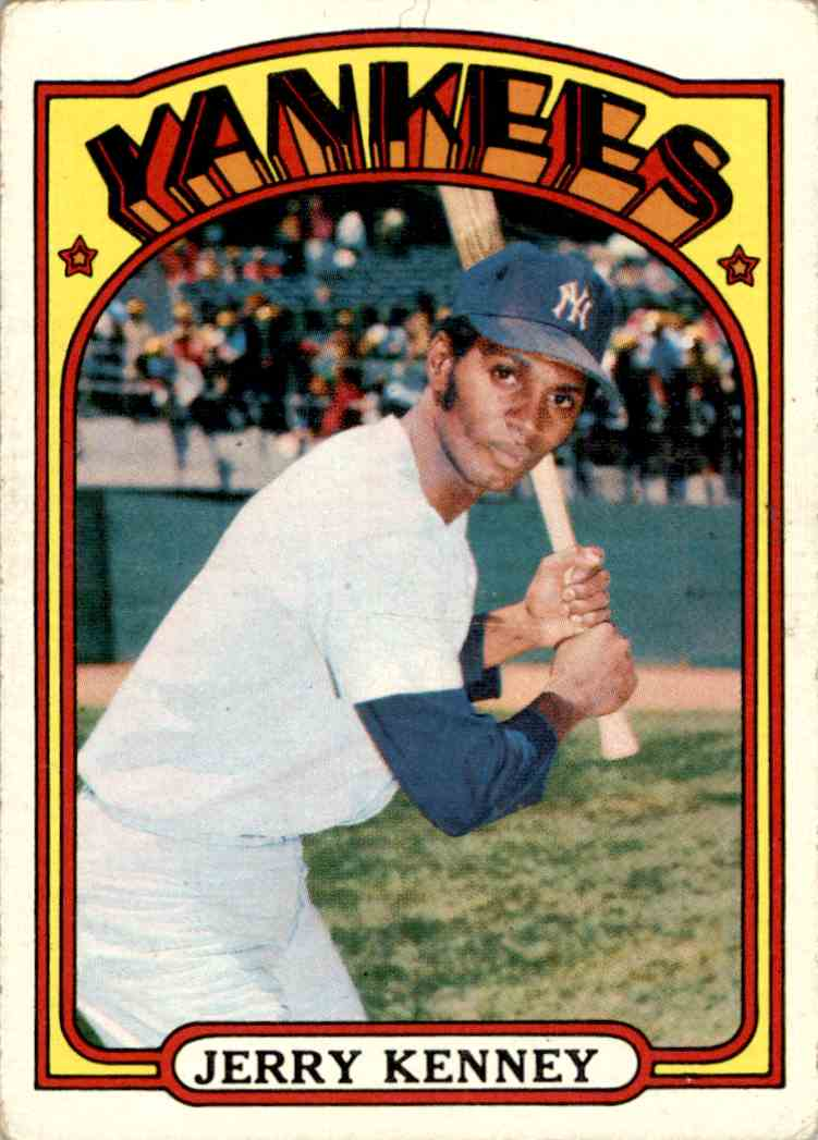 1971 Topps Jerry Kenney #158 card front image