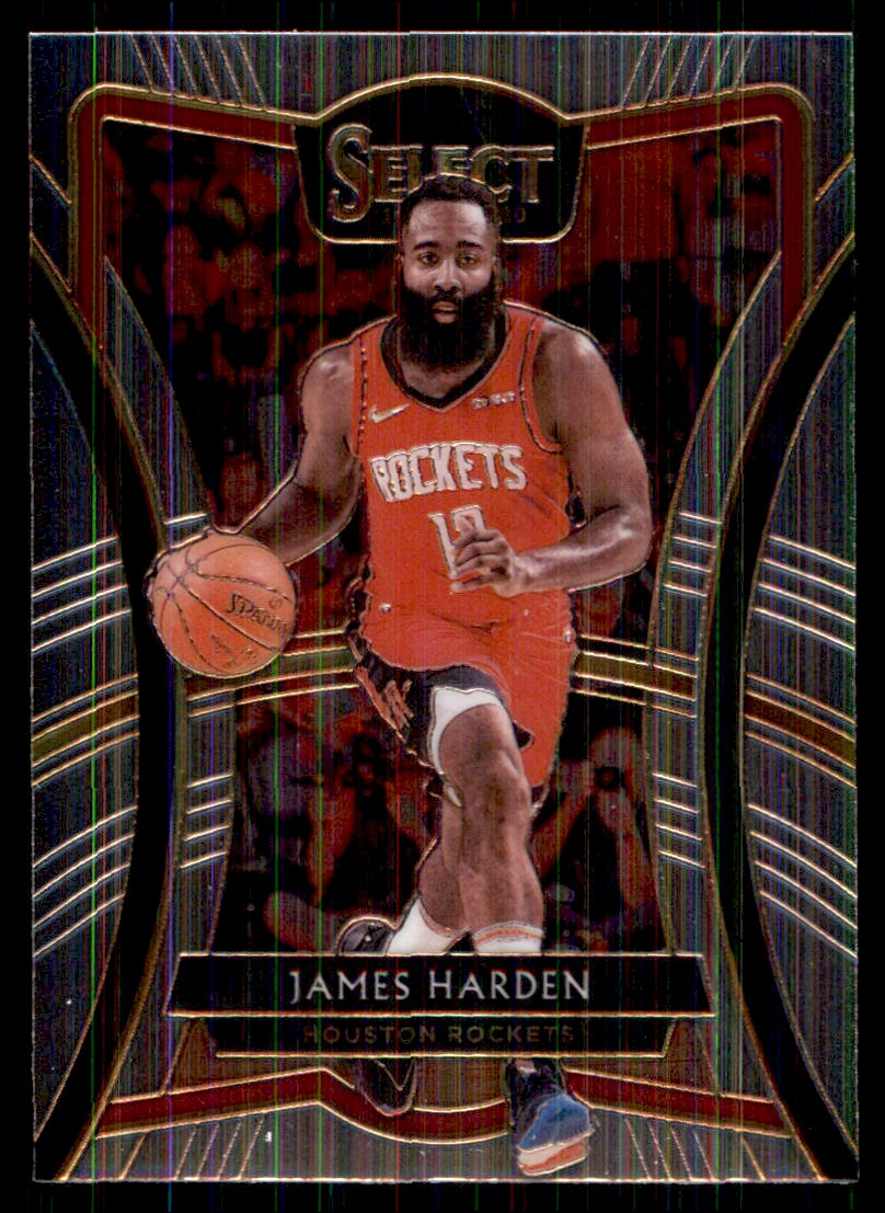 2019-20 Panini Select James Harden #140 card front image