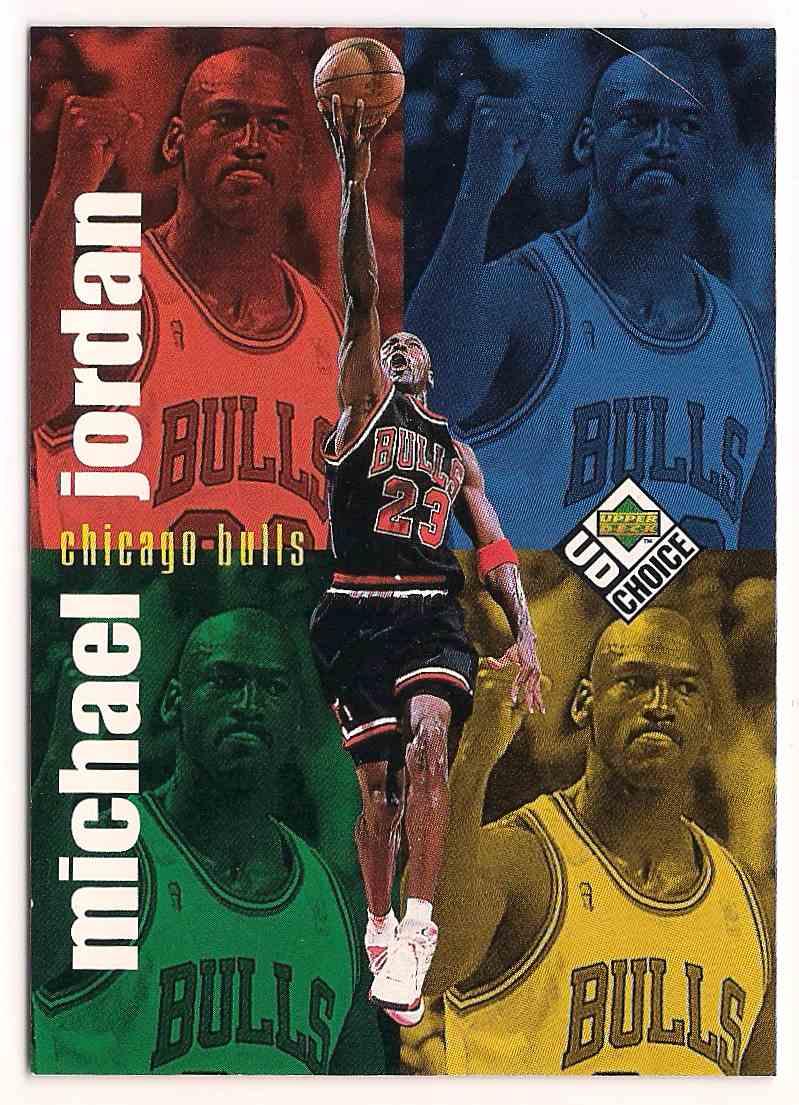 1998-99 Upper Deck UD Choice Michael Jordan #199 card front image