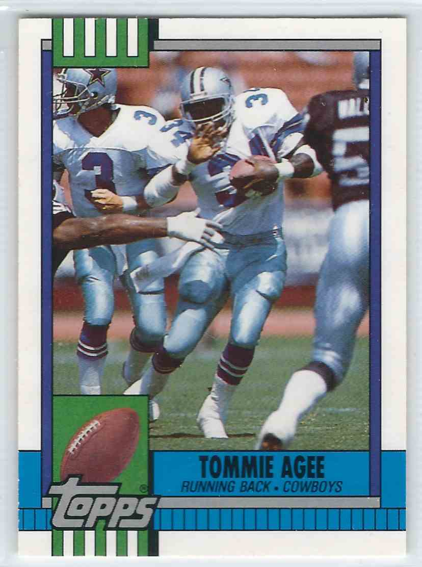 1990 Topps Traded Tommie Agee #125T card front image