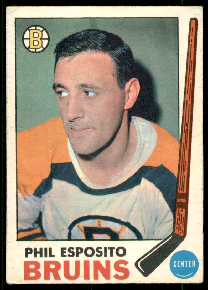 1968-69 O-Pee-Chee Phil Esposito #30 card front image