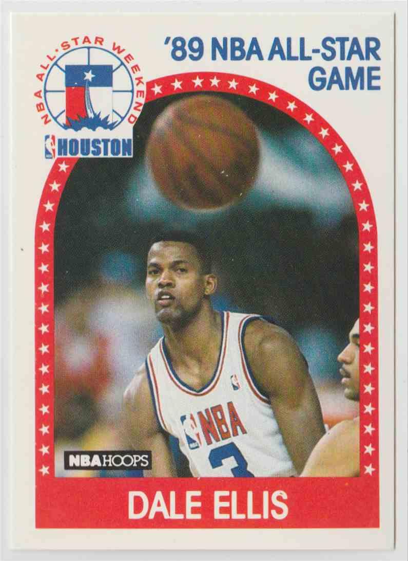1989 90 NBA Hoops Dale Ellis 43 on Kronozio