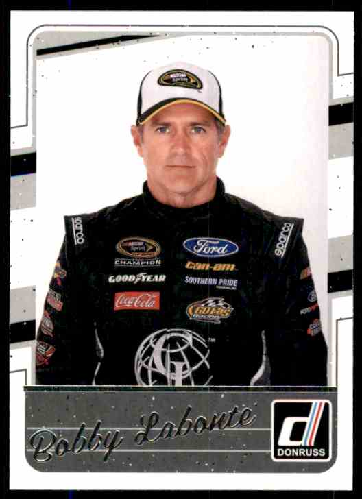 2017 Donruss Bobby Labonte #65 card front image