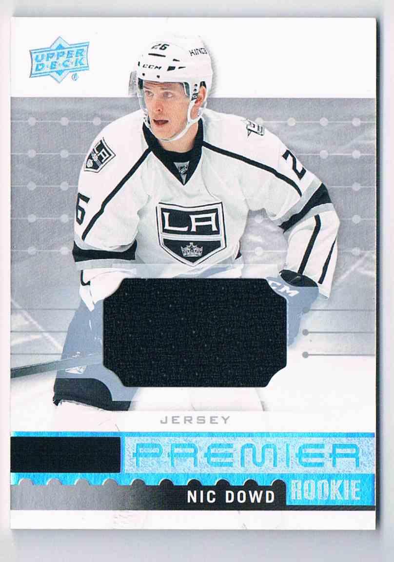 2016-17 Upper Deck Premier Jerseys Nic Dowd #R-32 card front image