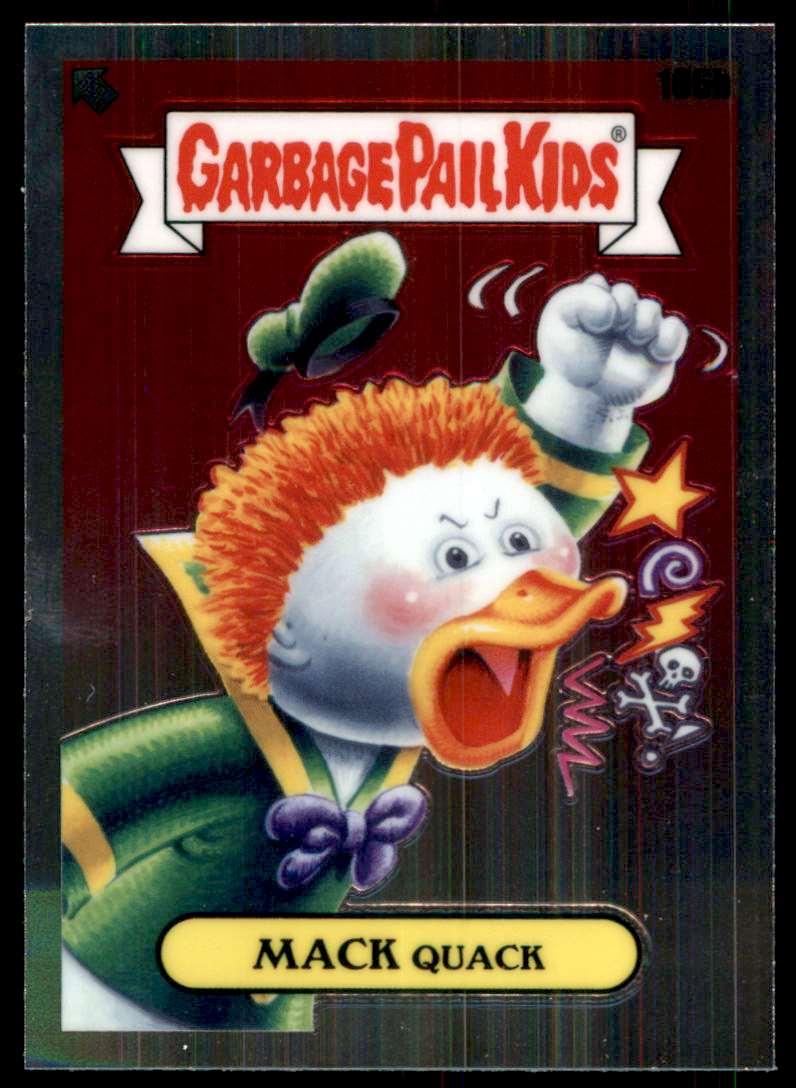 2020 Garbage Pail Kids Chrome Series 3 Mack Quack #106B card front image