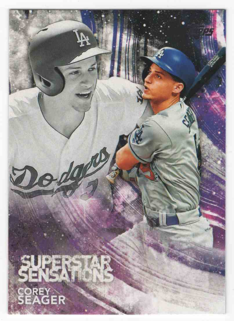 2018 Topps Superstar Sensations Corey Seager #SSS6 card front image