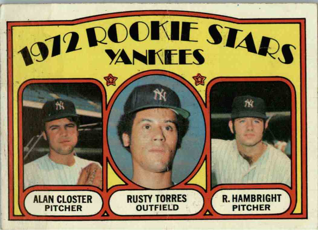 1972 Topss Closter Torres Hambright #124 card front image